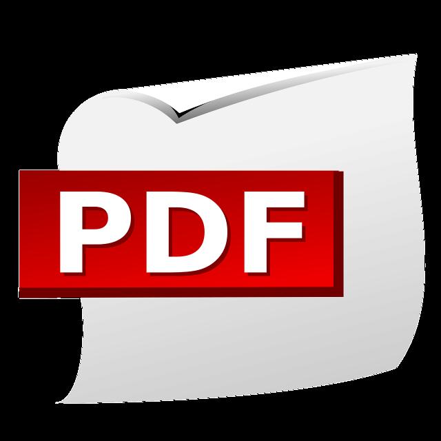 format pliku pdf logo