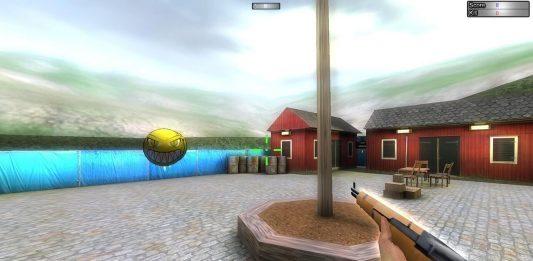widok strzelanki