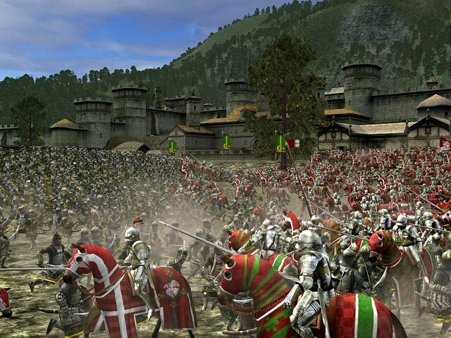 screen Medieval Total War